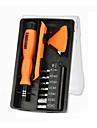Cell Phone Repair Tools Kit Magnetized Tweezers Screwdriver Plastic/Stianless Steel Pry Replacement Tools