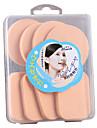 8 pcs Esponja de Po de Arroz/Esponja de Maquiagem Esponja Redonda Quadrada Mulheres Rosto