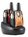 365 Handheld Emergency Alarm / Low Battery Warning / VOX <1.5KM <1.5KM Walkie Talkie Two Way Radio