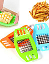 1Pc Stainless Steel Vegetable Potato Vertical Slicer Cutter Chopper Fries Chips Maker Potato Cutting Tool