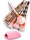 10 pieces ensembles de brosses Poil Synthetique Economique Professionnel Couvrant Plastique OEil Nez Visage