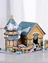 Puzzles 3D Jouets Forme de Jouet Papier Pieces Noel Le Jour des enfants Cadeau