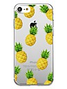 Capinha Para Apple iPhone 8 iPhone 8 Plus Estampada Capa traseira Fruta Macia TPU para iPhone X iPhone 8 Plus iPhone 8 iPhone 7 Plus