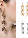 Femme Boucles d\'oreille goutte Cristal Mode Personnalise Cristal Forme de Fleur Bijoux Pour Soiree Quotidien Decontracte Plein Air