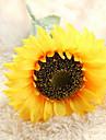 Artificial Flowers 1 Branch Modern Style / Wedding Sunflowers Tabletop Flower