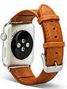 Watch Band for Apple Watch Series 3 / 2 / 1 Apple Classic Buckle Genuine Leather Wrist Strap