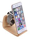 samdi деревянных зарядок кронштейн держатель телефона подставка для яблочных часов смартфонов очеловеченного дизайна угла зрения ореха