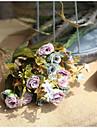 Artificial Flowers 1 Branch Wedding / Wedding Flowers Roses Wall Flower