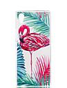 Case For Sony Sony Xperia XA Xperia XZ1 Xperia XA1 Ultra-thin Pattern Back Cover Flamingo Soft TPU for Xperia XZ1 Compact Sony Xperia XZ1