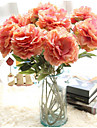 Artificial Flowers 1 Branch Stylish Peonies Tabletop Flower