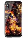 Coque Pour Apple iPhone X iPhone 8 Motif Coque Ciel Dur Verre Trempe pour iPhone X iPhone 8 Plus iPhone 8 iPhone 7 Plus iPhone 7 iPhone