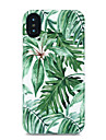 Pour iPhone X iPhone 8 Etuis coque Motif Coque Arriere Coque Arbre Flexible PUT pour Apple iPhone X iPhone 8 Plus iPhone 8 iPhone 7 Plus