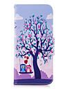 Кейс для Назначение SSamsung Galaxy S9 S9 Plus Бумажник для карт Кошелек со стендом Флип С узором Чехол дерево Сова Твердый Кожа PU для