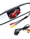 4.3 inch TFT-LCD CCD Car Rear View Kit Waterproof Night Vision for Car