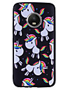 Case For Motorola MOTO G5 Plus MOTO G5 Pattern Unicorn Soft for
