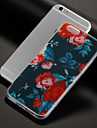 Capinha Para Apple iPhone X iPhone 8 iPhone 8 Plus Estampada Capa traseira Flor Macia TPU para iPhone X iPhone 8 Plus iPhone 8 iPhone 7