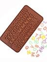 englanti aakkoset silikoni kakku muotti diy suklaa muotti karkkia leivonta työkalut