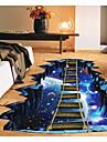 Abstract 3D Wall Stickers 3D Wall Stickers Decorative Wall Stickers, Paper Home Decoration Wall Decal Floor
