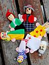 Пальцевые куклы Марионетки Ролевые игры Обучающая игрушка Игрушки Игрушки Милый стиль Милый Плюш Детские Девочки 6 Куски
