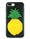 Coque Pour Apple iPhone X iPhone 8 A Faire Soi-Meme Coque Fruit Bande dessinee Flexible TPU pour iPhone X iPhone 8 Plus iPhone 8 iPhone 7