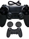 for PS4 Wireless Bluetooth3.0 Charger & Adapter - Sony PS4 0 With Charger Gaming Handle Wireless Flash Control Vibration >480