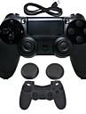 for PS4 Беспроводное Bluetooth 3.0 Зарядное устройство и адаптер - Sony PS4 0 С зарядным устройством Игровые манипуляторы Беспроводное