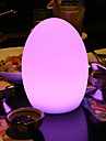 1pc LED Night Light Built-in Li-Battery Powered / USB Port Remote Controlled / Rechargeable / with USB Port
