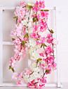 Ψεύτικα λουλούδια 1 Κλαδί Γάμος Ευρωπαϊκό Άνθος Κερασιάς Λουλούδι Τοίχου