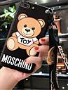 Coque Pour Apple iPhone X iPhone 7 Plus Motif Coque Bande dessinee Dur Silicone pour iPhone X iPhone 8 Plus iPhone 8 iPhone 7 Plus iPhone