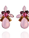 Women\'s Crystal Rhinestone Crystal Imitation Diamond Stud Earrings - Casual Fashion Geometric Drop For Daily Going out