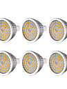 YWXLIGHT® 6pcs 7W 600-700 lm MR16 GU5.3 LED Spotlight 48 leds SMD 2835 Warm White Cold White Natural White DC 12V