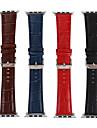 Urrem for Apple Watch Series 4/3/2/1 Apple Læderrem Læder Håndledsrem