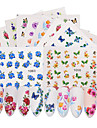 50 pcs Flower / Nail Decals Stickers & Tapes / Water Transfer Sticker / Nail Sticker DIY / Nail Art Design