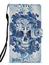 Case For Sony Xperia L2 Xperia XZ2 Card Holder Wallet with Stand Flip Pattern Full Body Cases Skull Hard PU Leather for Xperia XA2 Xperia
