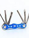 자전거 도구 사이클링 / 자전거 드라이버 수리 키트 변형 불가능 다기능 탄소강 - 1pcs 블랙 레드 블루