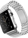 Pulseiras de Relogio para Apple Watch Series 4/3/2/1 Apple Fecho Classico Metal / Aco Inoxidavel Tira de Pulso