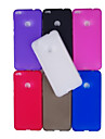 Case For Huawei P8 Lite (2017) P10 Lite Frosted Back Cover Solid Color Soft TPU for P10 Lite P10 Huawei P9 Lite Huawei P9 P8 Lite (2017)