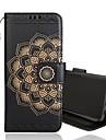 Capinha Para Samsung Galaxy S9 Plus / S9 Carteira / Porta-Cartao / Flip Capa Protecao Completa Flor Rigida PU Leather para S9 / S9 Plus / S8 Plus