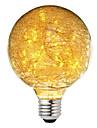 BRELONG® 1 개 3W 300lm E26 / E27 LED 글로브 전구 47 LED 비즈 별이 빛나는 장식 따뜻한 화이트 220-240V