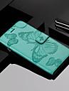 Custodia Per Apple iPhone X / iPhone 8 Plus A portafoglio / Porta-carte di credito / Con supporto Integrale Farfalla Resistente pelle sintetica per iPhone X / iPhone 8 Plus / iPhone 8