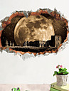 Decorative Wall Stickers - 3D Wall Stickers Landscape Living Room Bedroom Bathroom Kitchen Dining Room Study Room / Office