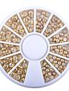 1 pcs Negle Smykker Udsøgt Negle kunst Manicure Pedicure Dagligdagstøj Imiteret Perle