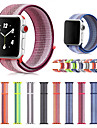 Horlogeband voor Apple Watch Series 3 / 2 / 1 Apple Moderne gesp Nylon Polsband