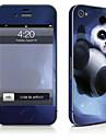 1개 스킨 스티커 용 스크래치 방지 동물 패턴 PVC iPhone 4/4s