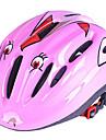 Pentru copii biciclete Casca 10 Găuri de Ventilaţie CE Rezistent la Impact Lumina Greutate Ventilație EPS Sport Ciclism / Bicicletă Camping - Verde Albastru Roz / Modelată integral
