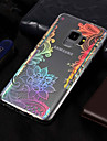 Case For Samsung Galaxy S9 / S9 Plus Plating / Pattern Back Cover Lace Printing Soft TPU for S9 Plus / S9 / S8 Plus