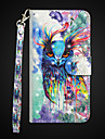 Case For Apple iPhone X / iPhone 8 Plus Wallet / Shockproof / with Stand Full Body Cases Owl Hard PU Leather for iPhone X / iPhone 8 Plus / iPhone 8
