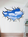 Decorative Wall Stickers - 3D Wall Stickers Landscape 3D Living Room Bedroom Bathroom Kitchen Dining Room Study Room / Office