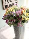 زهور اصطناعية 1 فرع أسلوب بسيط الحديث نباتات الزهور الخالدة أزهار الطاولة