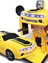 Carros de Brinquedo Carro / Robo Transformavel / Criativo / Musica e luz Revestimento em Plastico Criancas Dom 1 pcs